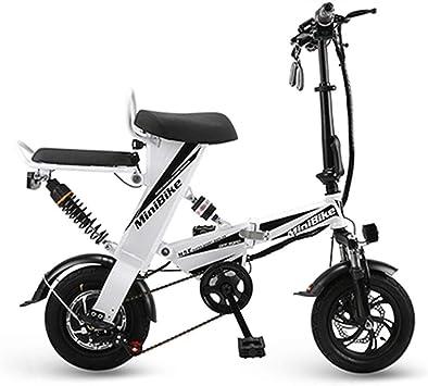 TIANQING Mini Automóvil Eléctrico Plegable, Bicicleta Eléctrica De ...