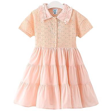 Yue Lian Yue Lian Mädchen Sommerkleider Partykleider ...