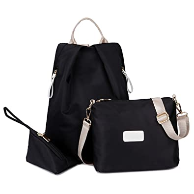 eef0e87958d6 Amazon.com: Evan Fordd Hot Sale Lady Nylon Backpack Female Travel ...