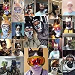 AXBXCX 3D Animal Neck Gaiter Warmer Windproof Full Face Mask Scarf for Ski Halloween Costume 7