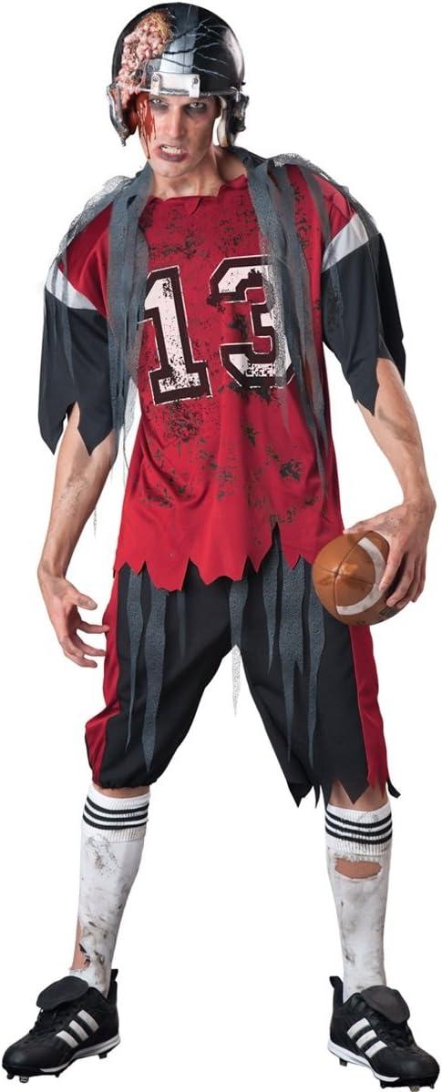 Para hombre muerto zombi reproductor de fútbol americano + casco ...