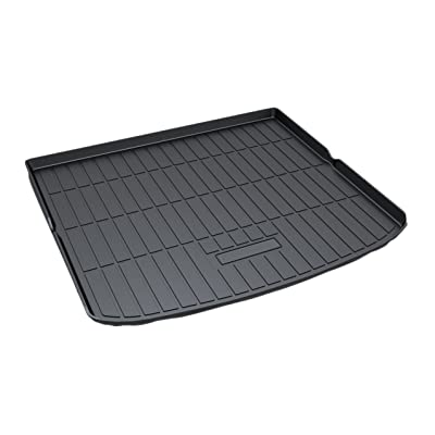 Kaungka Cargo Liner Rear Cargo Tray Trunk Floor Mat Waterproof Protector for 2015 2016 2020 2020 Ford Edge (Only Fit that with Five Chairs) ¡: Home Improvement