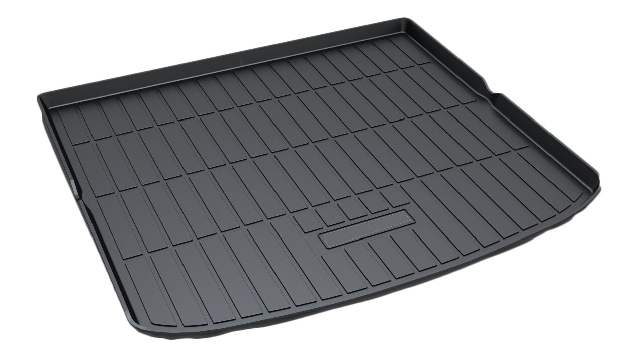 Kaungka Cargo Liner Rear Cargo Tray Trunk Floor Mat Waterproof Protector for 2015 2016 2017 2018 Ford Edge (Only Fit that with Five Chairs) ¡­
