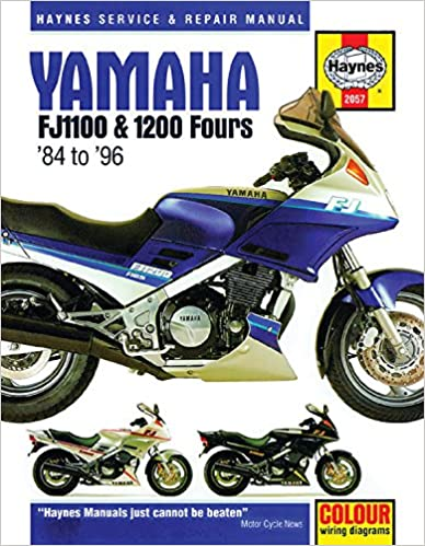 Yamaha FJ1100 & 1200 Fours 1984 -1996 (Haynes Service & Repair Manual)