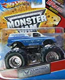 #1: Hot Wheels Monster Jam U.S. Air Force Afterburner with Topps Trading Card