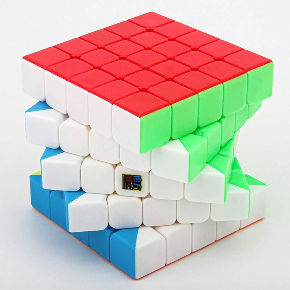 Speed Cube Khosd Cubo Rubik Magic Cube Puzzleless Stickerless Giocattoli per Bambini E Adulti Professional Speed Magic Cube per La Concorrenza
