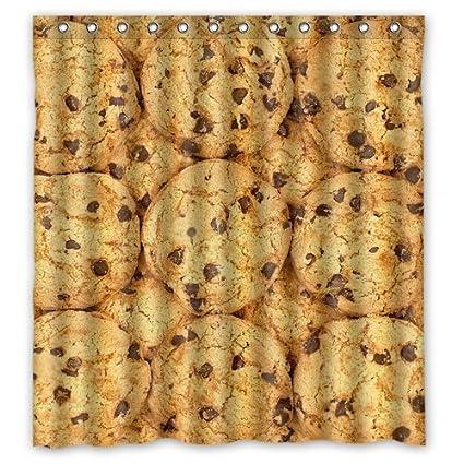 Amazon.com: Custom Baby Cookie Shower Curtain Bath Decorations ...
