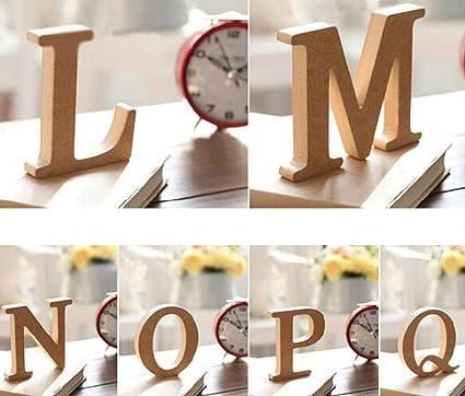 Amazon Com Aimeart Decorative Wood Alphabet Letter Prop For Wedding