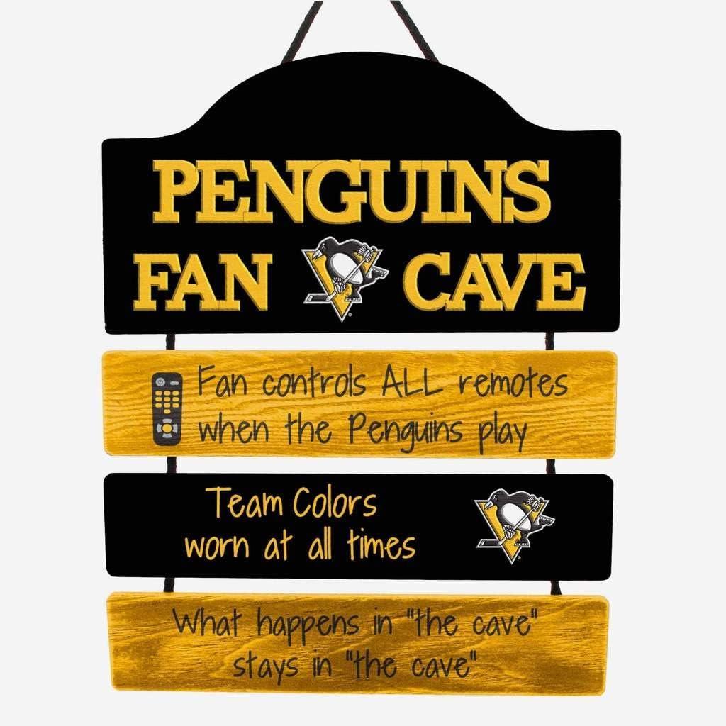 FOCO NHL Team Logo Mancave Man Cave Hanging Wall Sign