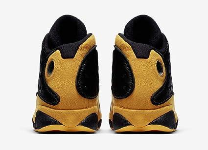 bf8245438f3f Amazon.com  Jordan Air 13 Retro Men s Basketball Shoes Black University Red 414571  035 (10)  Sports   Outdoors