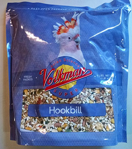 (Volkman Avian Science Super Hookbill 4 lb)