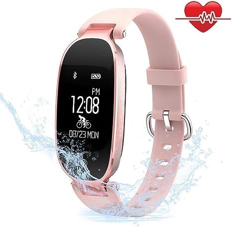 TECKEPIC Reloj Inteligente, Smartwatch Pulsera Actividad ...