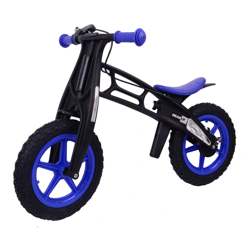 MammyGol Training Balance Bike Kids Sport Bicycle No Pedal Toddler Walking Buddy Excellent Present for Ages 2-5 Years (Blue)