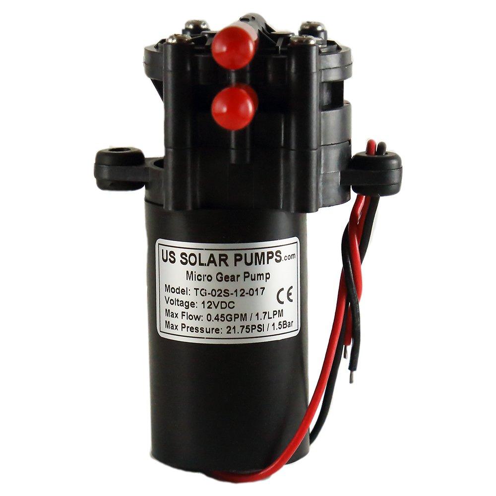 G2P 12V 1.7L - Micro-Gear Pump US Solar Pumps