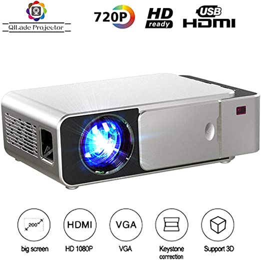 Mini proyector / 2500 lúmenes LED Portátil Full HD Multimedia Home ...