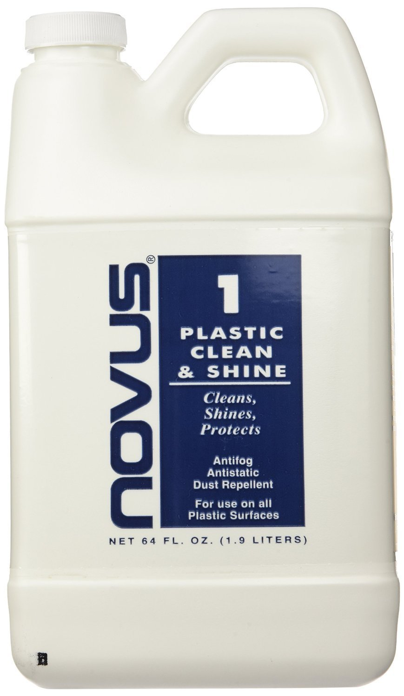 Amazon.com: NOVUS PC-10 Plastic Clean & Shine - 8 oz. - 6 Pack ...