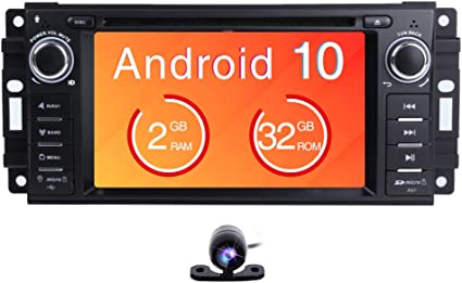 Freeauto Car Stereo Gps Dvd Player Android 8 1 For Jeep Wrangler Jk Main Unit Single Din 6 2 Inch Touchscreen Indash Radio Receiver With Navigation Bluetooth 3g Rear View Camera Amazon De