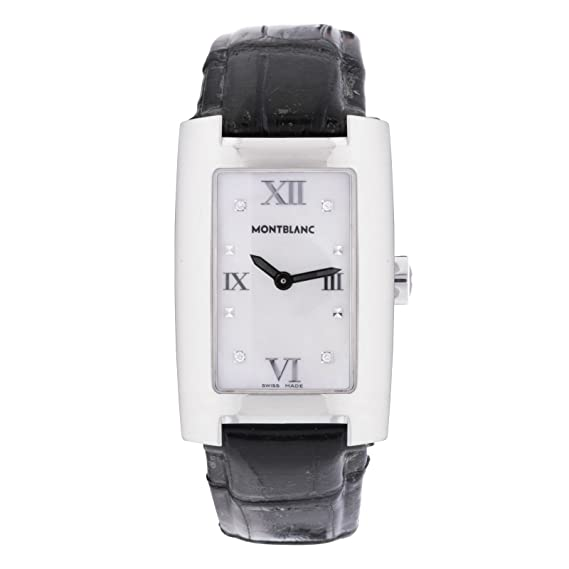 Montblanc perfil cuarzo mujer reloj 7077 (Certificado) de segunda mano: Montblanc: Amazon.es: Relojes