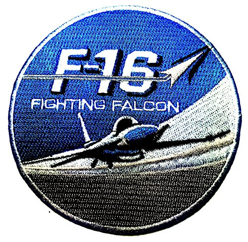 F-16 Fighting Falcon Usaf Air Force Jet Aircraft logo Patch Sew Iron on Logo Embroidered Badge Sign Emblem Costume BY Dreamhigh_skyland
