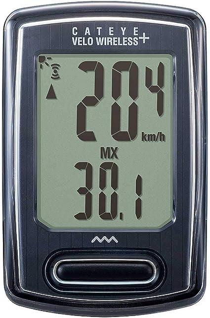 Cycling Bike Computer Speedometer CC-VT235W Black New Cateye VELO Wireless