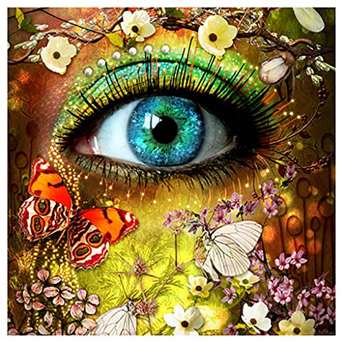 Fanyunhan 5D DIY Diamond Painting Embroidery Paintings Rhinestone Pasted Cross Stitch Home Study Room Décor ()