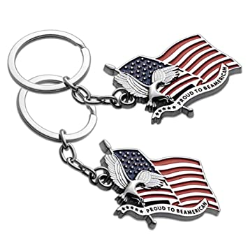 Amazon.com: Lot of 2 USA US Proud to be American Flag ...