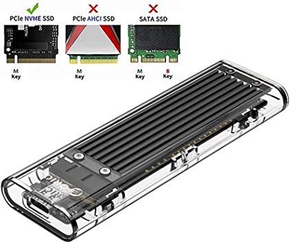 ORICO Carcasa NVMe M.2 para SSD de PCIe: Amazon.es ...
