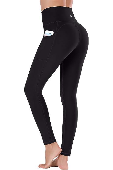 Amazon.com: Lingswallow High Waist Yoga Pants - Yoga Pants ...