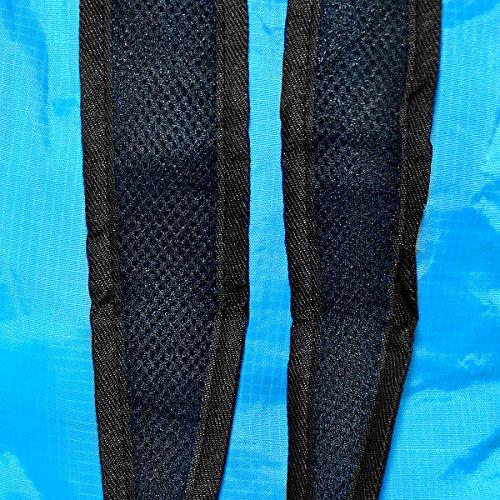 Mochila Plegable Mochila de Hombro Backpack Bolsas de Hombro Bolso Bandolera Ultra Ligera Mochila Deportiva para Al Aire Libre Viaje Ciclismo Senderismo Nailon Verde, by LC Prime Azul