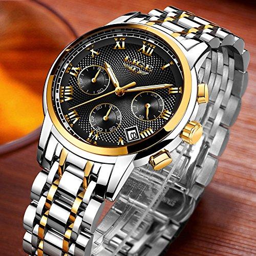 LIGE-Mens-Watches-Waterproof-Chronograph-Stainless-Steel-Analog-Quartz-Watch-Men-Luxury-Brand-Fashion-Dress-Business-Wristwatch