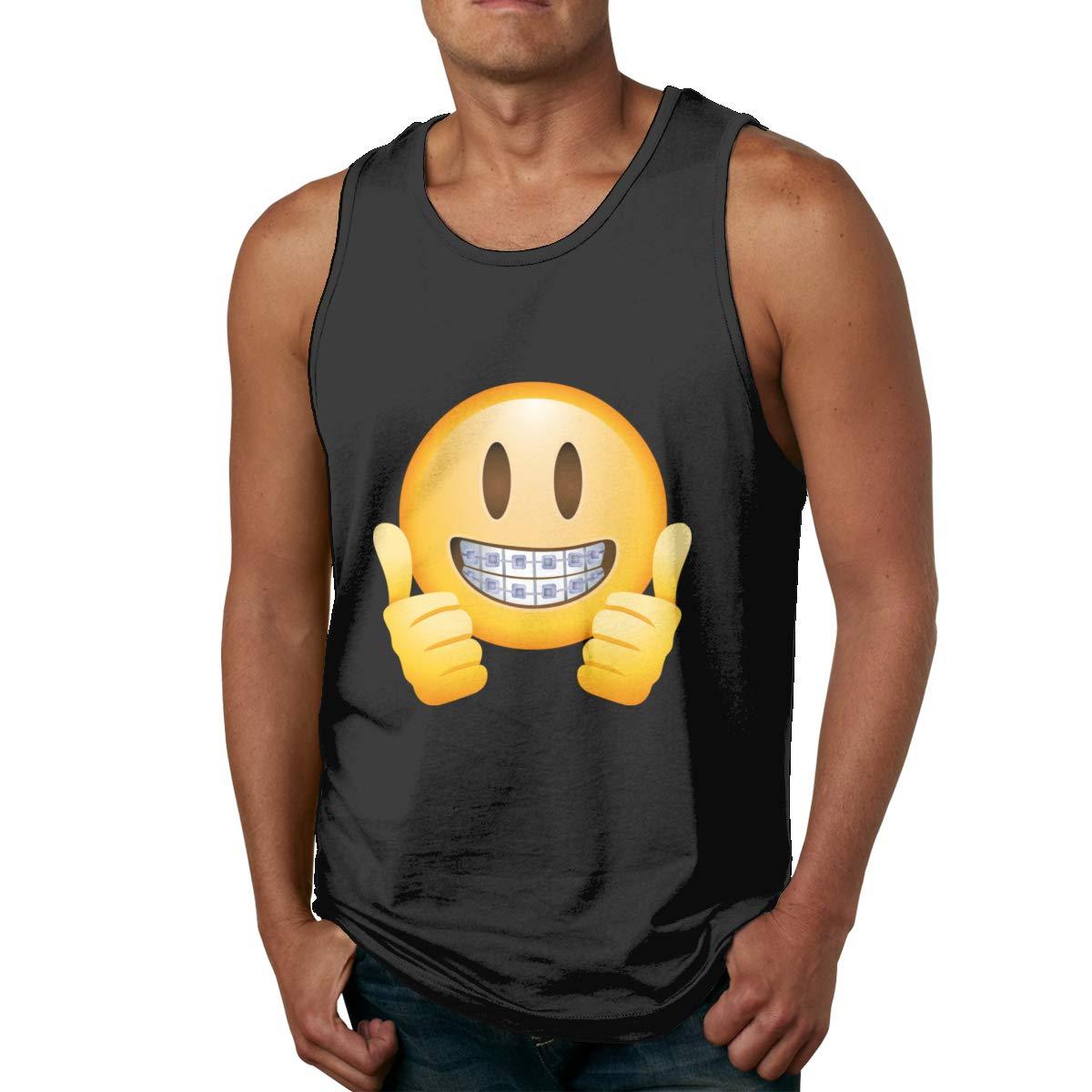 Seuriamin Thumbs Up Emoji S Humor Running Sleeveless Tank Top T Shirts