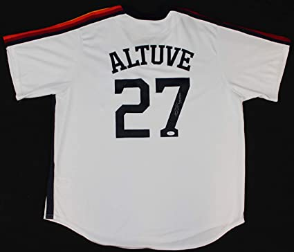 buy popular 001dd 71123 Jose Altuve Autographed Signed Memorabilia Houston Astros ...