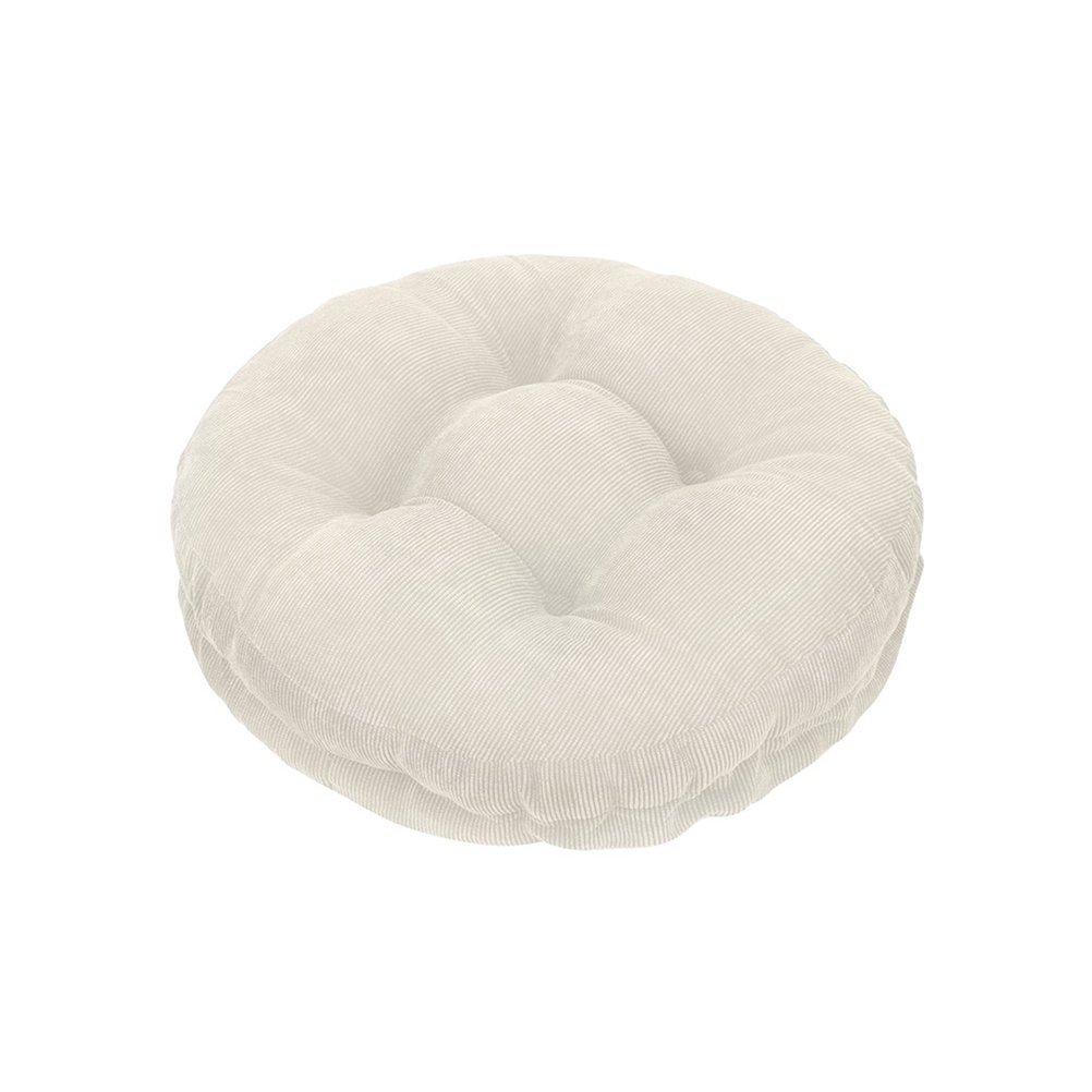 """Olywell 12"""" Round Bar Stool Cushion with Elastic, Full Edges Covering, Padded to Give your Stool Comfort, Machine Washable"""