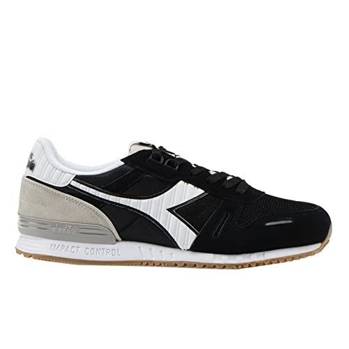 19698ead80 Diadora Men's Titan II Low Top Shoes Black White 11: Amazon.co.uk ...