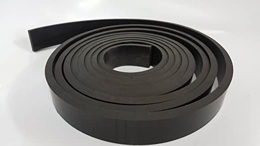 Amazon Com Rubber Sheet Warehouse 500 1 2 Thick X 6 Wide X 5 Long Neoprene Rubber Strip Commercial Grade 65a Smooth Finish Solid Rubber Perfect For Weather Stripping Gasket Costume Diy Projects