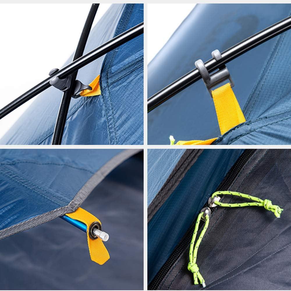 Tent Double Layer Ultra Light Waterdichte Winddichte Tent, Groen (Nederlands)