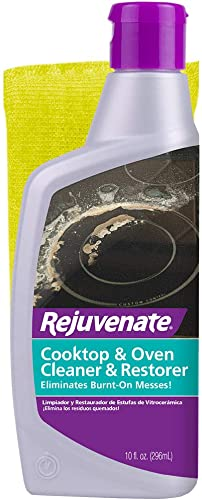 Rejuvenate Glass and Ceramic Cooktop and Oven Cleaner