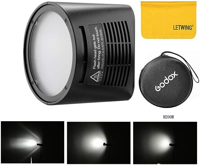 Godox H200r Gold 200ws Flash Super Power And Natural Camera Photo