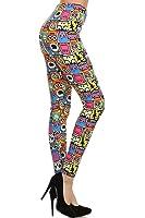 Leggings Depot Ultra Soft Full Length 3X5X Popular Best Printed Fashion Leggings