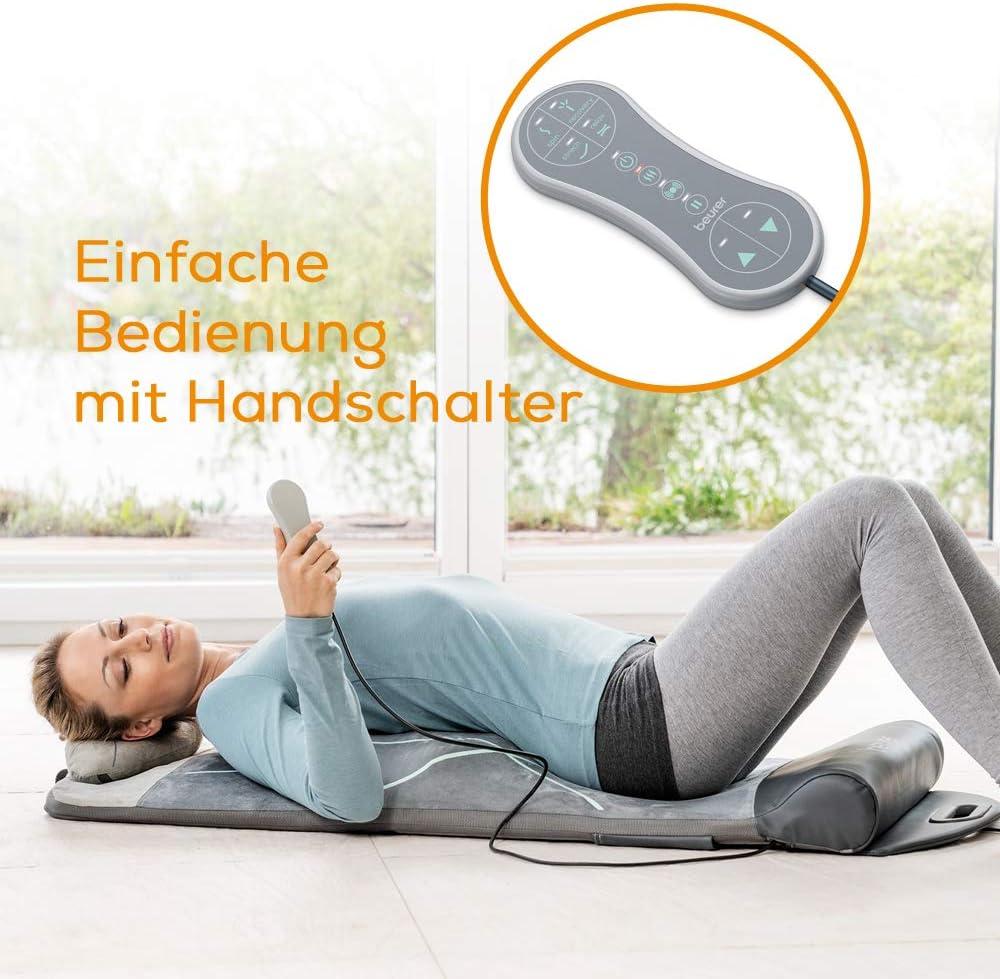 Bedienung der Beurer MG 280 Yoga- und Stretchingmatte