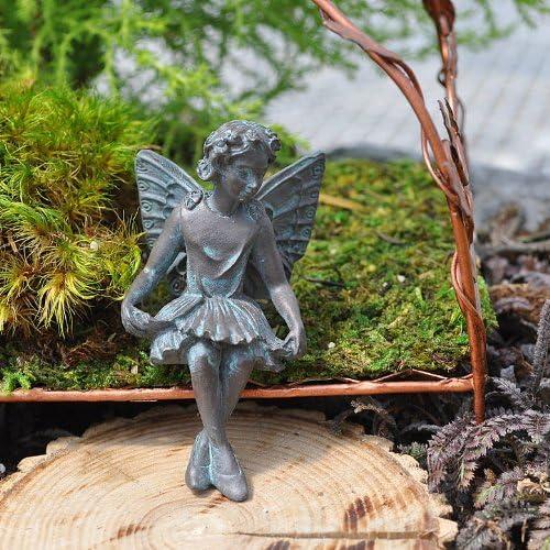 Miniatura Jardín de hadas hada Evelyn Mae: Amazon.es: Jardín