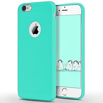 SpiritSun Funda iPhone 6 / 6S, Soft Carcasa Funda Ultrafina TPU Bumper para iPhone 6 / 6S (4.7 Pulgadas) Suave Silicona Carcasa Ultra Delgado y Ligero ...