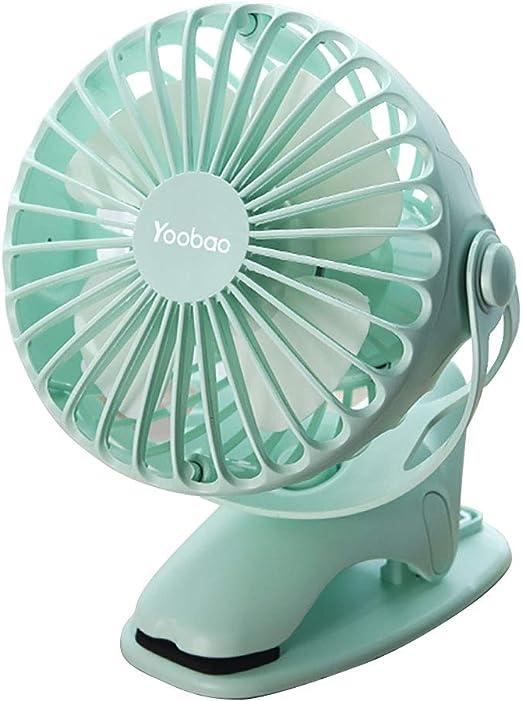 Mini Fan Clip Fan 3200mah Funciona con Pilas USB Ventilador De ...