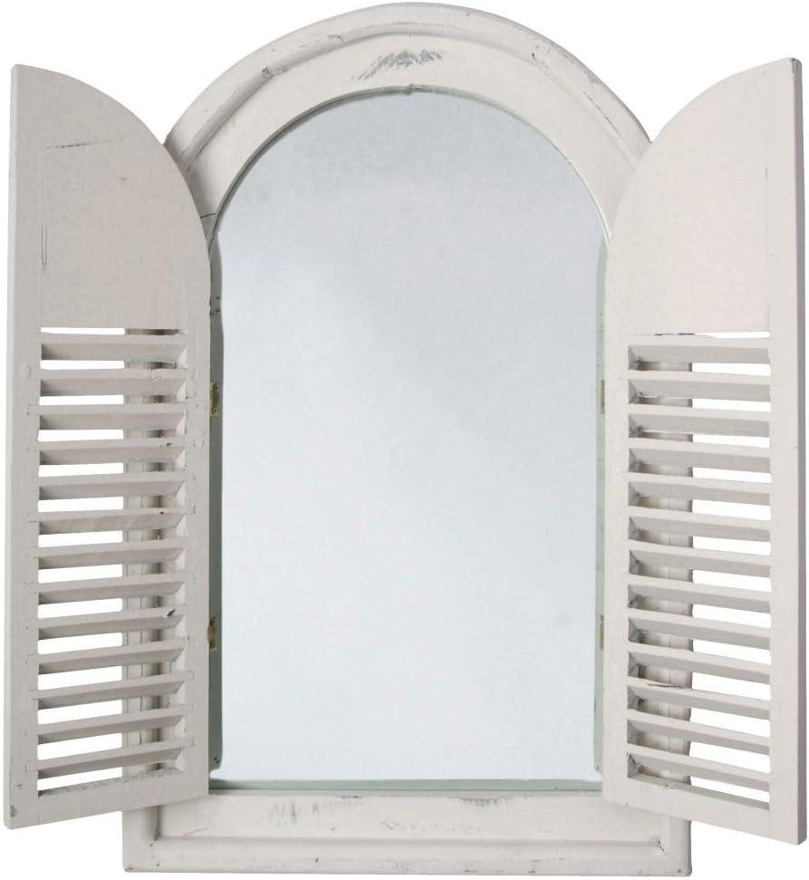 Esschert Design White Window Frame w/French Doors