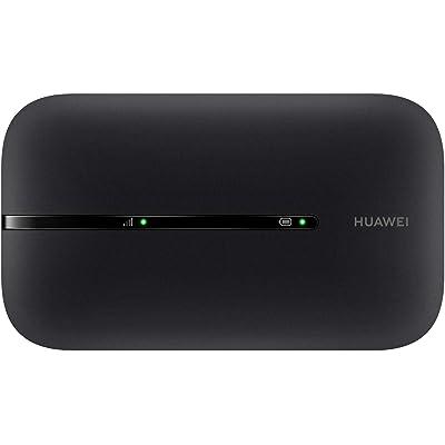 HUAWEI 4G Mobile WiFi - Mobile WiFi 4G LTE (CAT4) Piunto de acceso, Velocidad de descarga de hasta 150Mbps, Batería recargable de 1500mAh, No se requiere configuración, Wi-Fi portátil para viajes de o