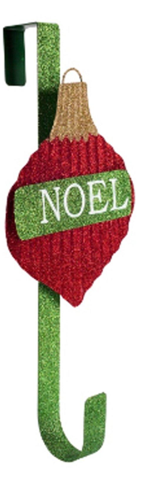 Melrose Decorative Metal Over The Door Wreath Hanger - Noel Ornament