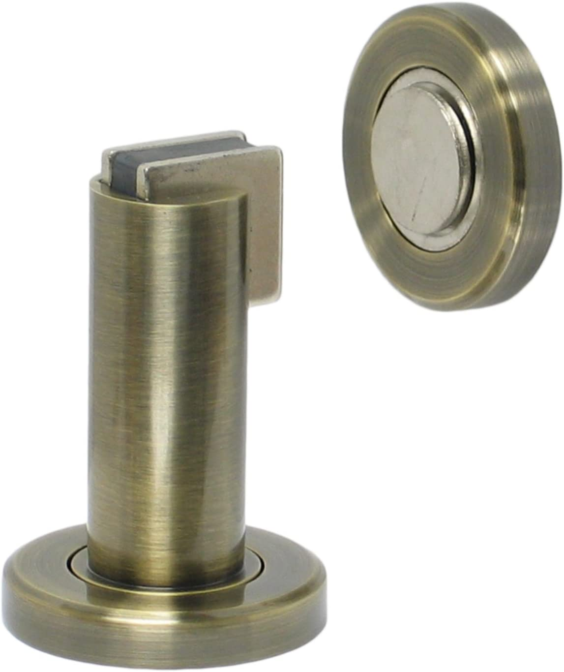 Holder and Magnetic Catch FPL Modern Door Stop Oil Rubbed Bronze