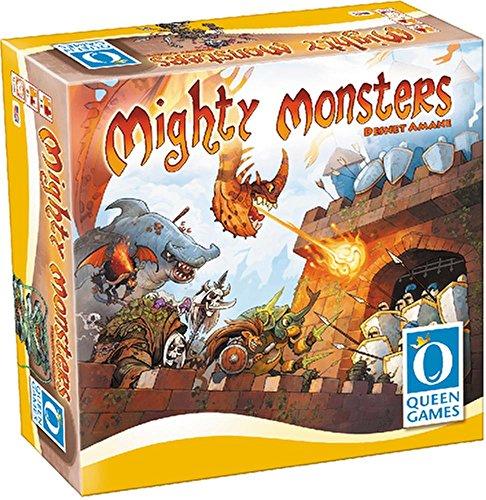 Queen Games 10180 - Mächtige Monster, Spiele und Puzzles