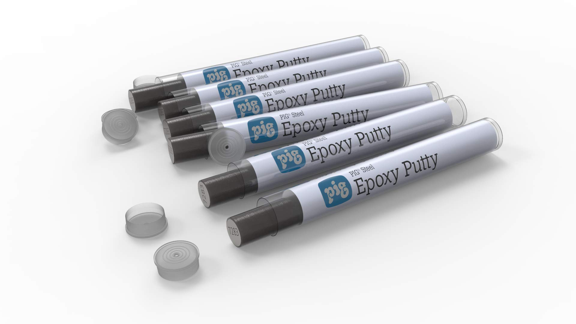 New Pig Steel Epoxy Putty for The Garage - Great for DIY Projects in The Garage and Workshop - Gray - Pack of 6 - PM50172