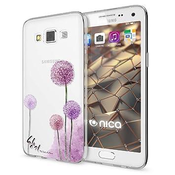 NALIA Funda Carcasa Compatible con Samsung Galaxy A5 2015, Motivo Design Movil Protectora Ultra-Fina Silicona Cubierta, Gel Estuche Telefono Bumper ...